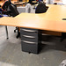 Recycled study desk