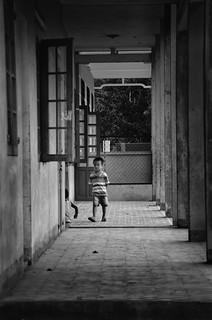 Vietnamese School Boy