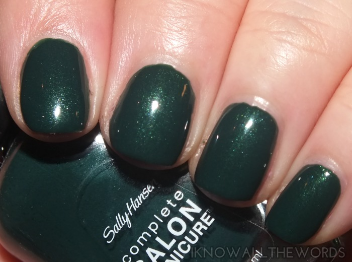 sally hansen complete salon manicure fall 2014- on pines and needles (2)