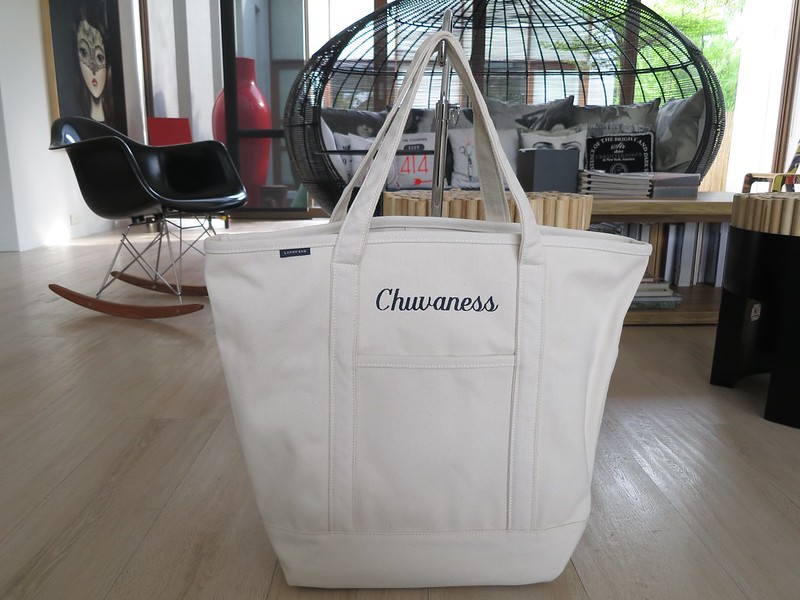 Chuvaness x Land's End tote