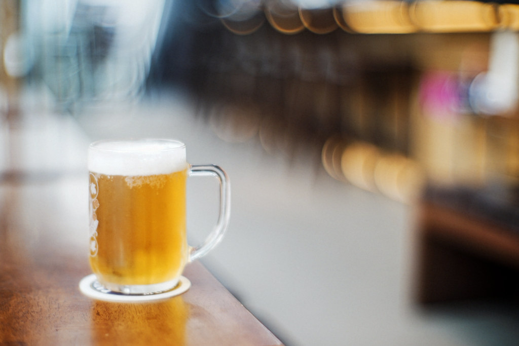 beer and bokeh