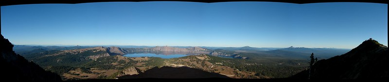 Crater Lake from Mt. Scott