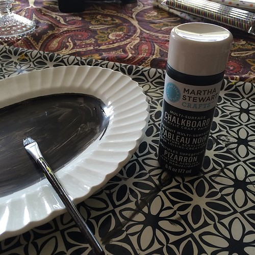 Making a Chalkboard Sign by Barb Hoyer