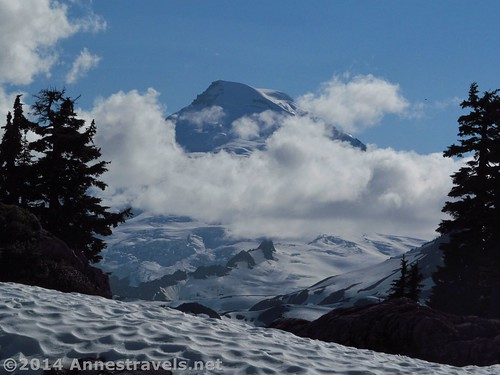 ...but sometimes Mt. Baker looked like this! From Artist Ridge, Mount Baker-Snoqualmie National Forest, Washington