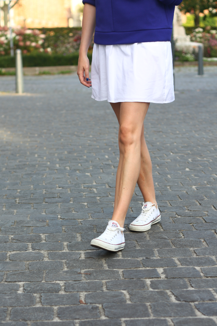 white low top converse outfit