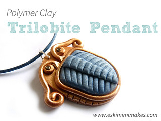Polymer Clay Trilobite Pendant Tutorial