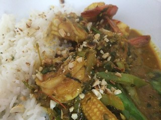 Red Thai Prawn Curry : Another Close Up
