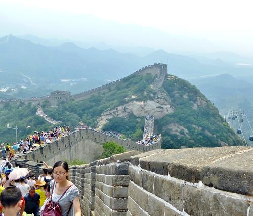 Beijing-Grande Muraille-Téléphérique (5)