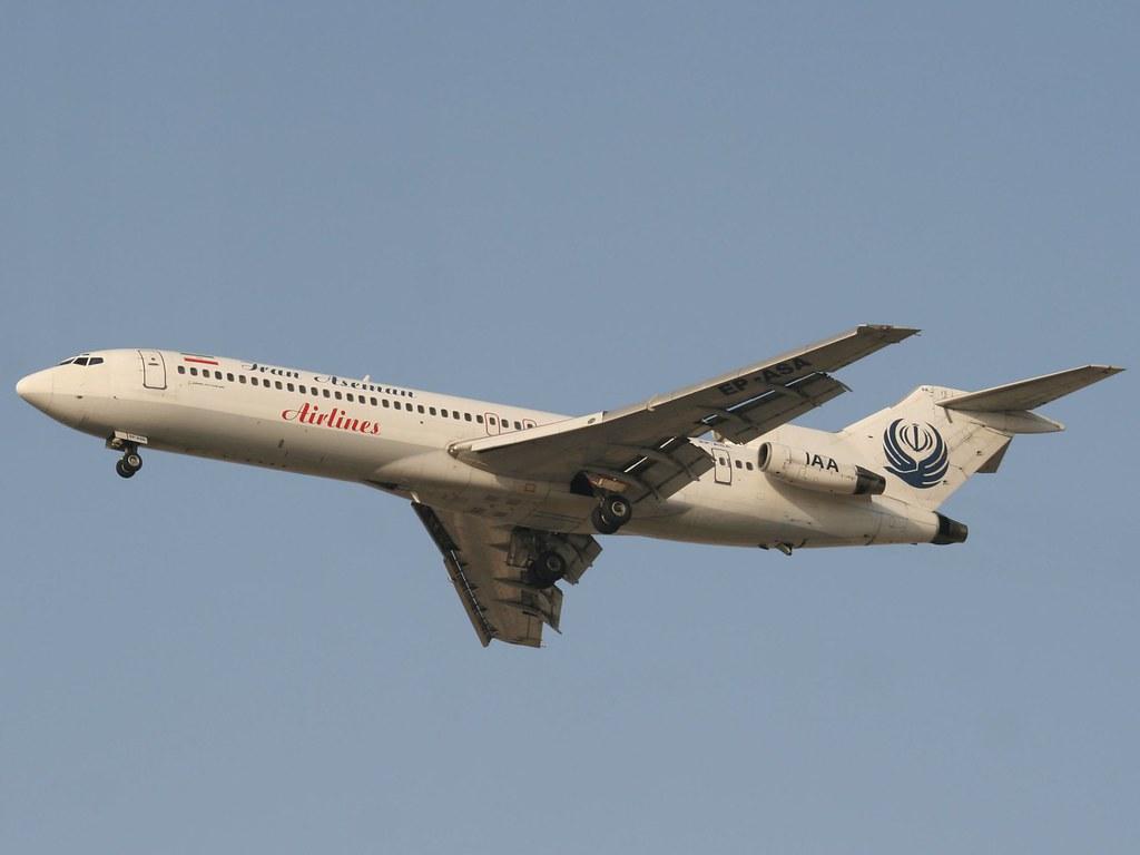 Iran Aseman Airlines Boeing 727-200/Adv EP-ASA