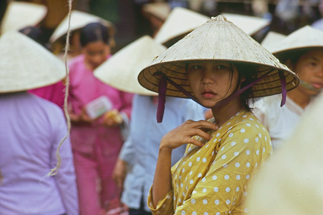 Tam Ky market, Quang Tin Province 1971 by Mark Melnick