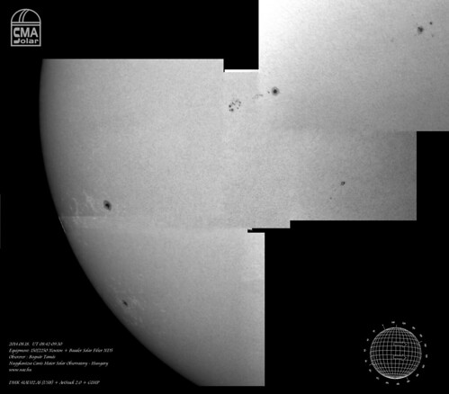 White light Sun - 2014.08.18. - Bognár Tamás, Nagykanizsa, NAE