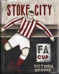 picture of Stoke City advertising