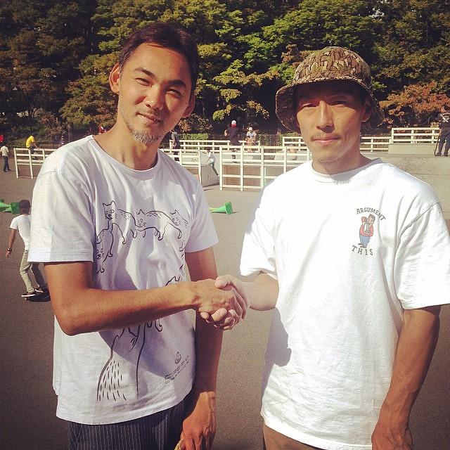URA3と協定を、結んだシンゴ。笑 #チルスケ #駒澤スケート