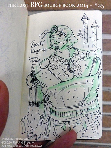 09-20-2014 #dailydrawing #lostRPG 2 Sweet Raymond