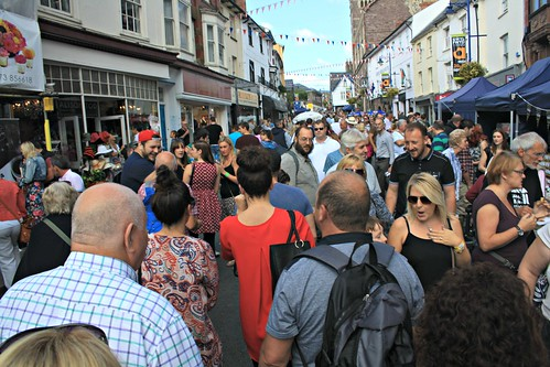 Abergavenny Food Festival (Dickie-Dai-Do)
