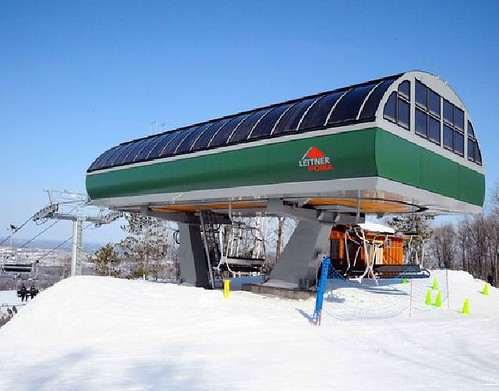 new lift at Granite Peak