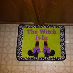 Jer's new bath mat.