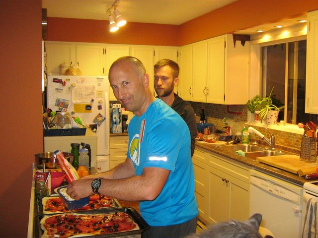 Pizza Night at Gords - Carb Loading