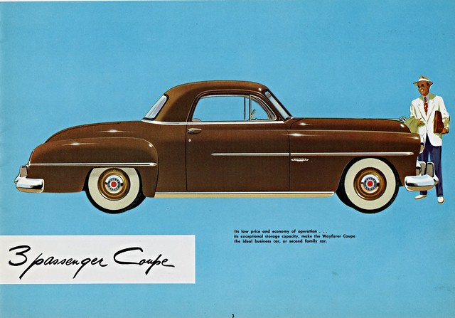 1951 dodge wayfarer 3 passenger coupe flickr photo for 1951 plymouth 3 window coupe