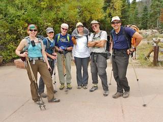 Successful Little Matterhorn Summiteers