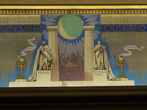 04u - Euclid and Pythagoras at Freemasons Hall