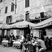 Late Lunch at the Caffe Fonte Gaia - Piazza del Campo, Siena
