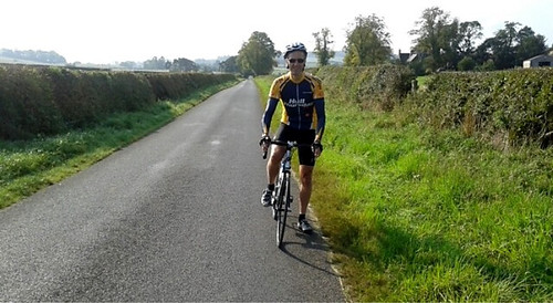 Neil Dean enjoying a end-of-season cycling break