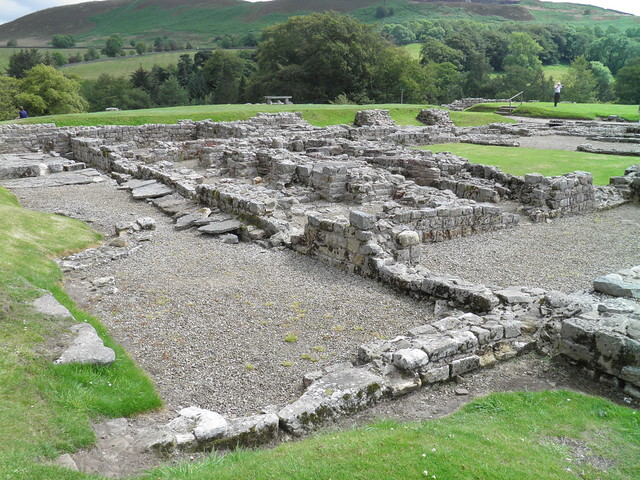 Vindolanda fort, UK