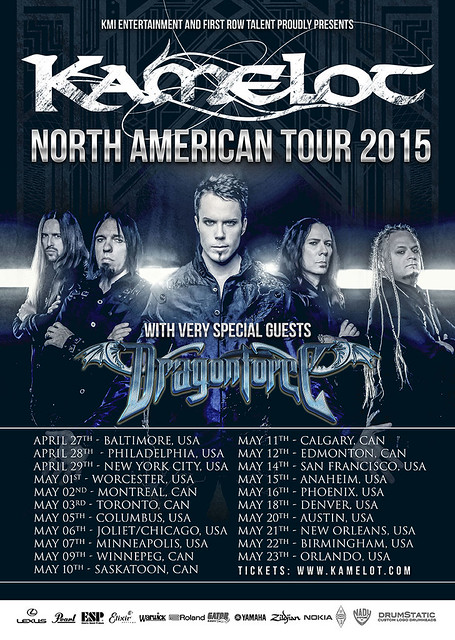 Kamelot at Baltimore SoundStage