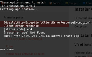 error-crearprojectlaravel