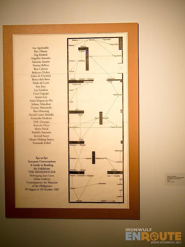 An exhibit display plan
