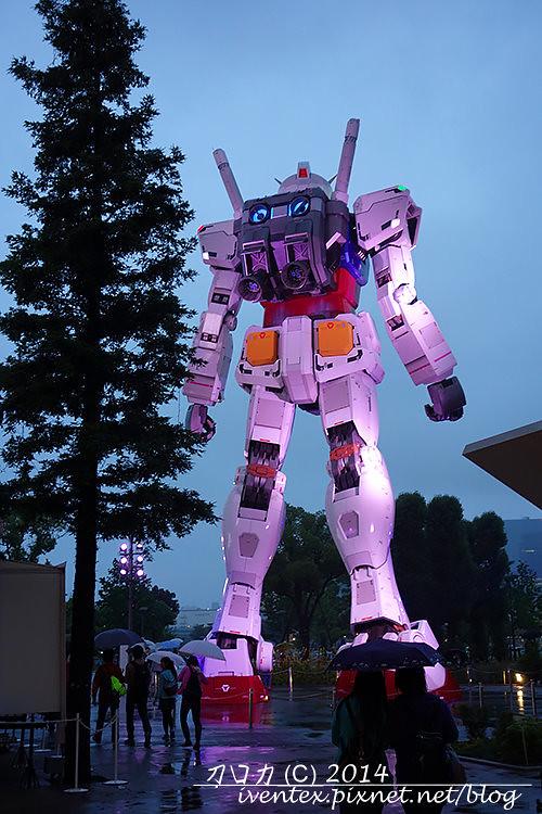 09日本東京台場DiverCity Tokyo Plaza機動戰士鋼彈