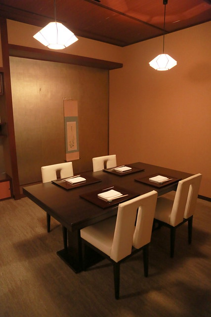 Ki-Sho has several private rooms upstairs