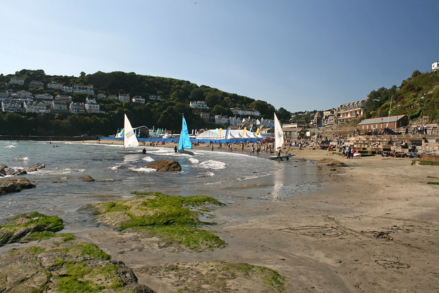 The beach at East Looe