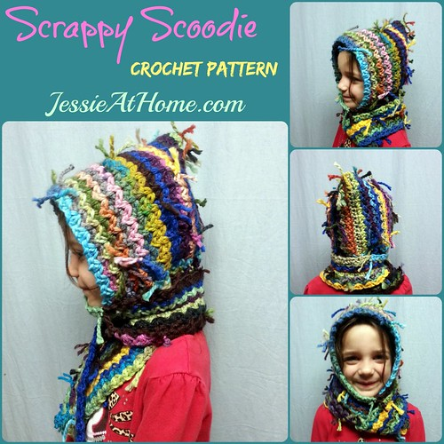 Scrappy Scoodie Crochet Version Jessie At Home