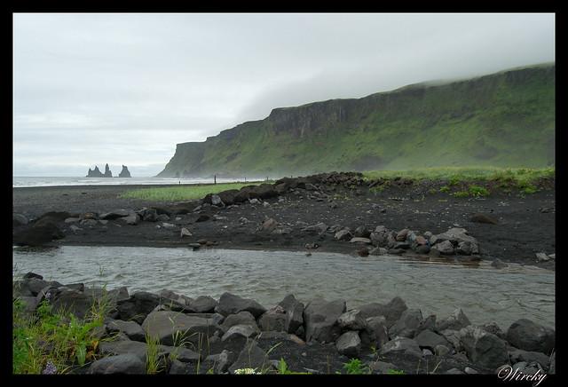 Río en Vík í Mýrdal