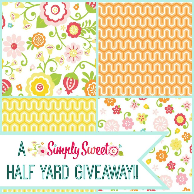 A Simply Sweet 1/2 YD GIVEAWAY!