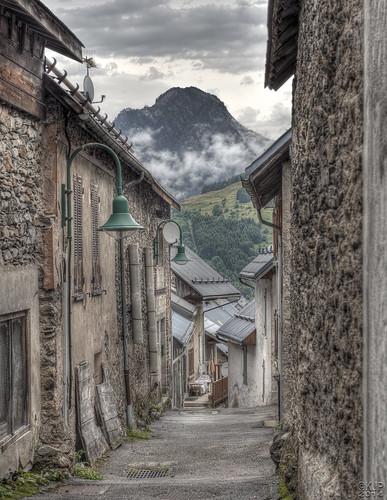 mountain france alps landscape village tourdefrance gdr frenchalps hdrphotography ornon borgdoisans