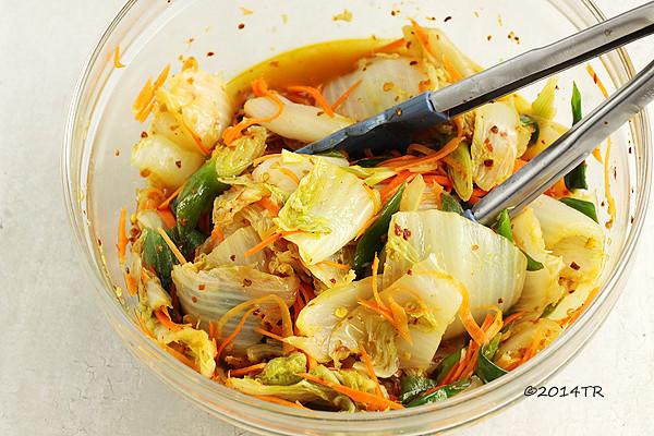 快手韓式泡菜 Quick kimchi-20140929