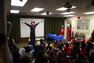 03/07/2014 - Dr. Seuss Celebration Main Library