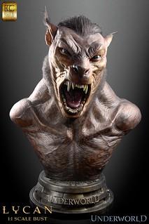 ECC新作!決戰異世界「狼人」1:1胸像