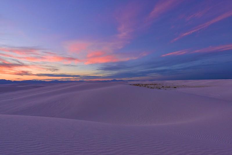 Dusk - White Sands National Monument