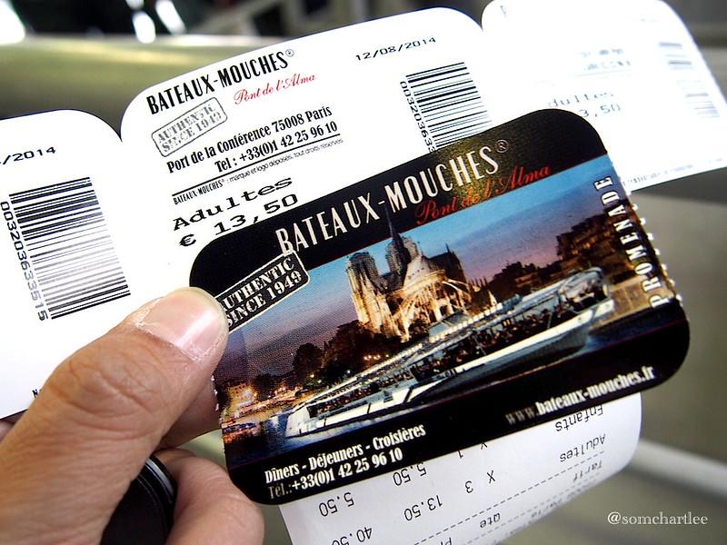 Bateaux Ticket