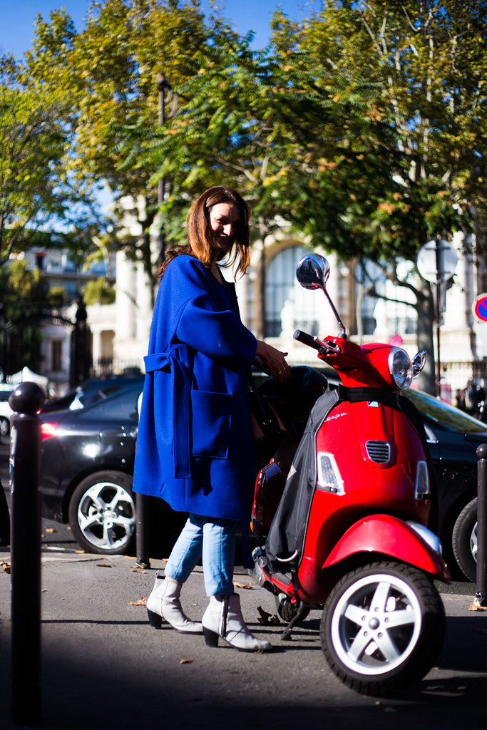 Street Style - Eva, Paris Fashion Week