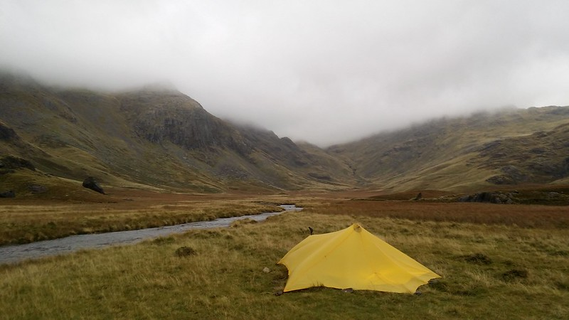 The Esk-side pitch near Sampsons Stones #sh