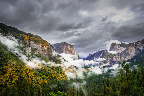 Early Fall of Tunnel View