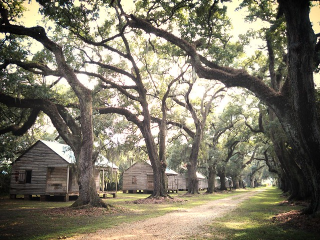 Evergreen Plantation, slave cabins