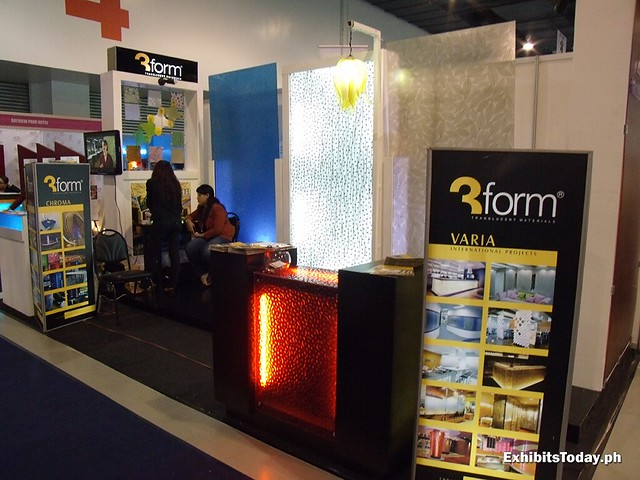 3Form Hardware Solutions Exhibit Stand