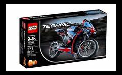 LEGO Technic 42036 - Street Motorcycle
