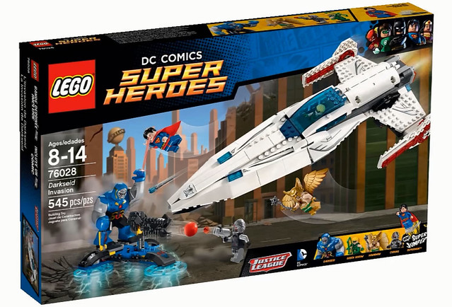 LEGO Super Heroes DC Comics 76028 - Darkseid Invasion